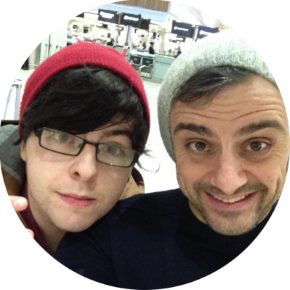 Sean Walsh with Gary Vaynerchuk