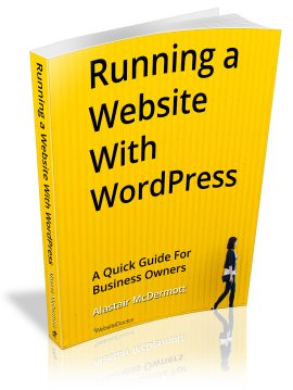 Running a Website with WordPress - available now on Kindle