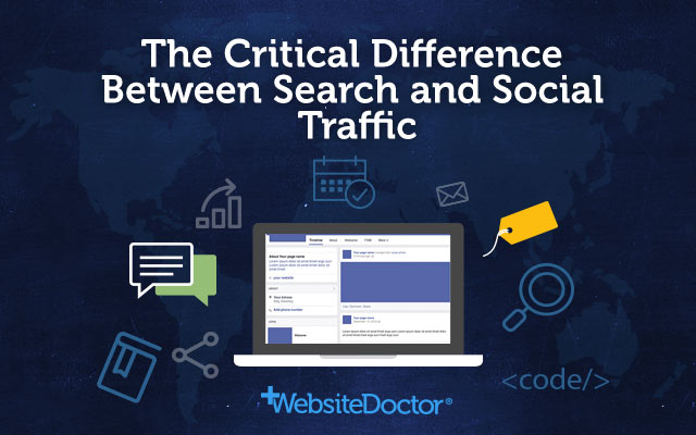The Critical Difference Between Search and Social Traffic