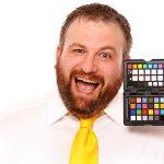 Alastair McDermott of WebsiteDoctor.com - profile photo - colour test fun