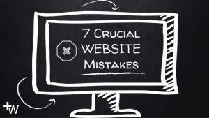Website Mistakes Slides